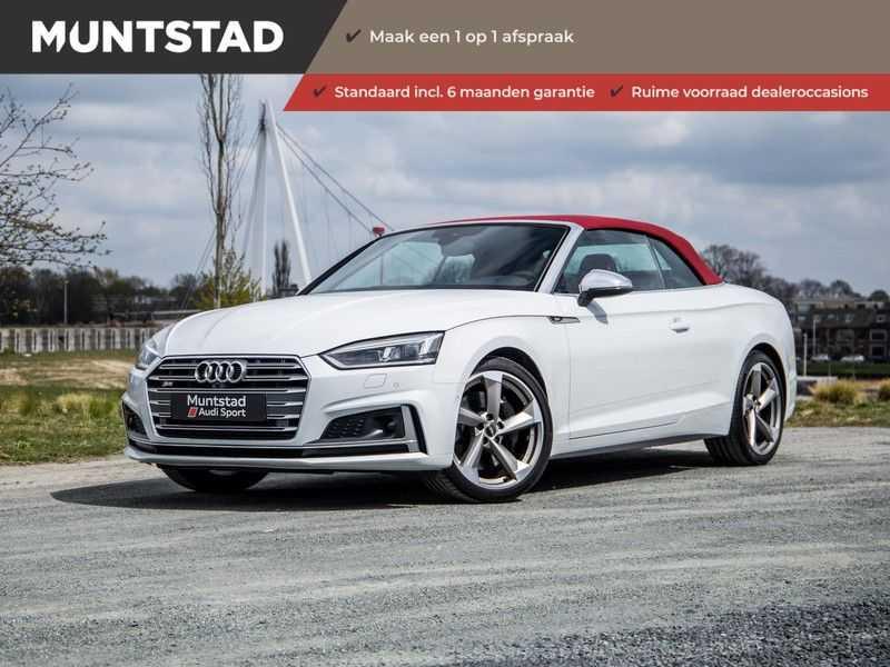 Audi S5 Cabriolet 3.0 TFSI S5 quattro Pro Line Plus 354PK | 2 x S-Line | Adapt.Cruise | Massage Stoelen | 360 Camera | afbeelding 1