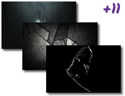 Black theme pack