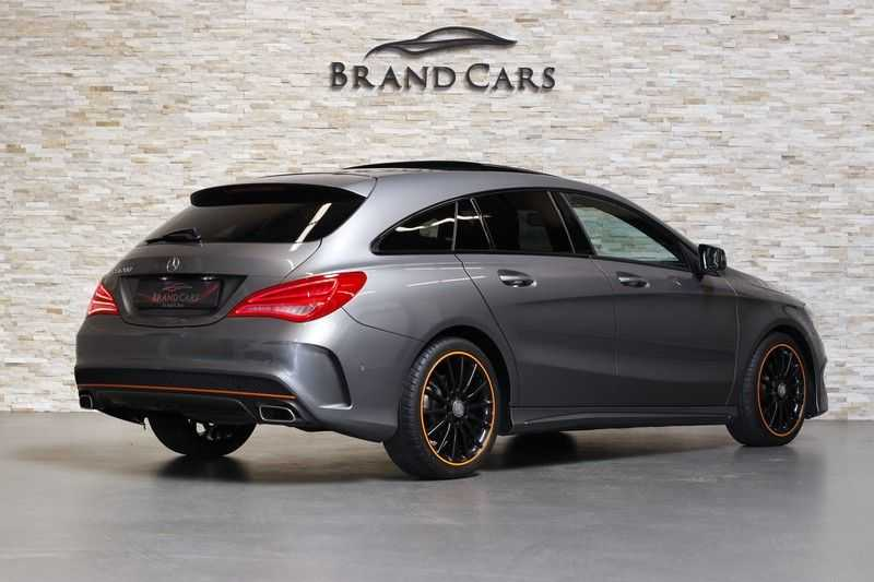 Mercedes-Benz CLA-Klasse Shooting Brake 200 OrangeArt Edition | VERKOCHT! | | Panoramadak | Memory stoelen | AMG Pakket | Night Pakket | Achteruitrijcamera | afbeelding 20