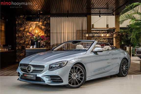 Mercedes-Benz S-Klasse Cabrio 560 AMG Designo leder macciatobeige | Exclusive pakket | 360 | HUD | Burmester High End | DAB | Memory pakket |