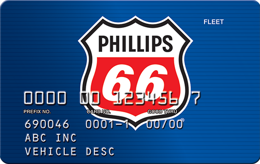 Phillips66 card