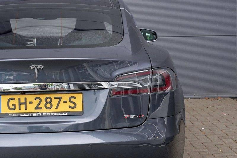 Tesla Model S 85D Performance 700pk Free Charging Pano Leer afbeelding 16