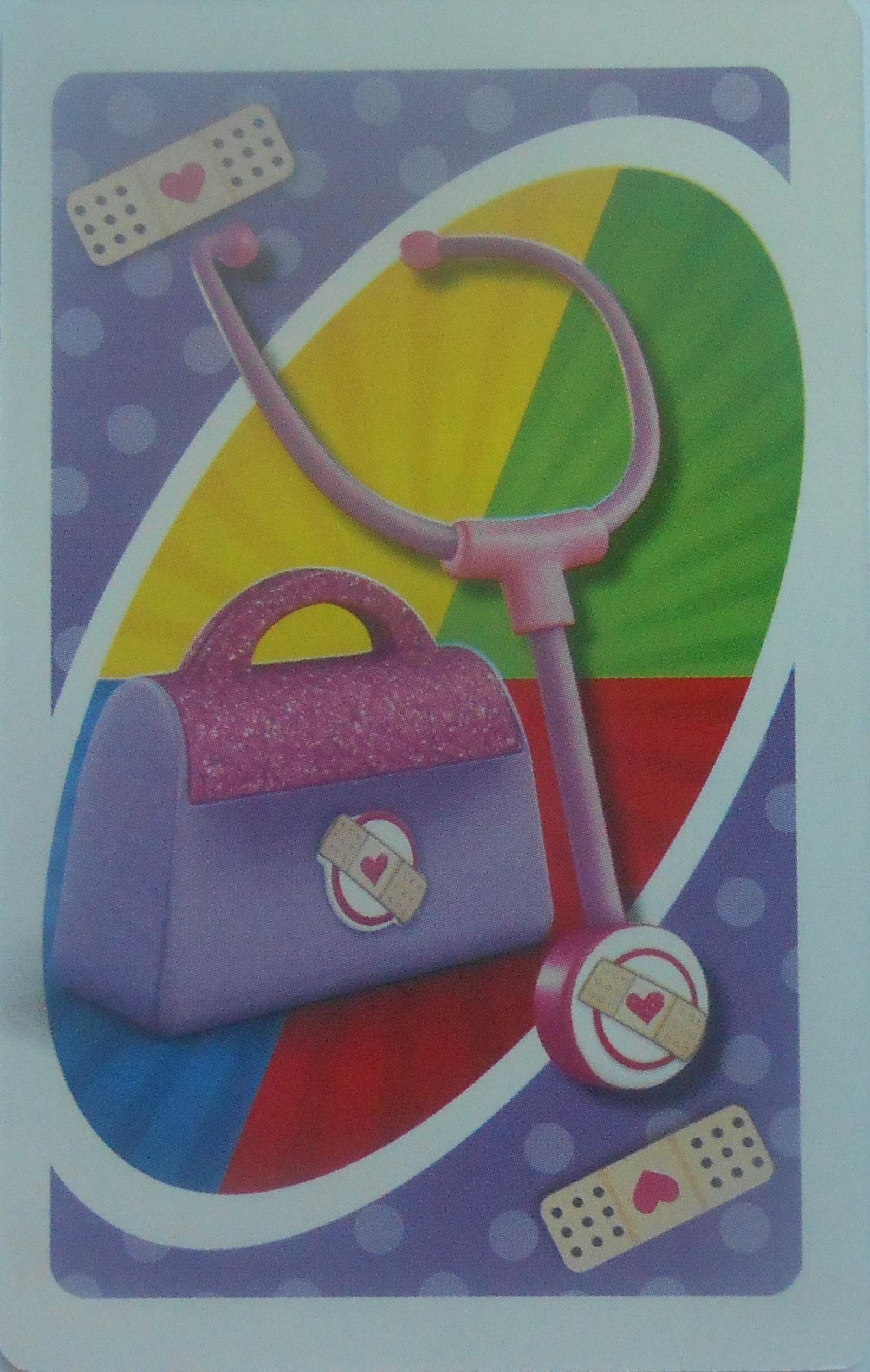 Doc McStuffins Uno (Stethoscope Card)