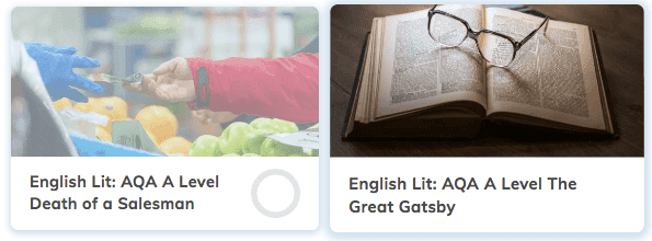 A Level English Literature Revision Courses