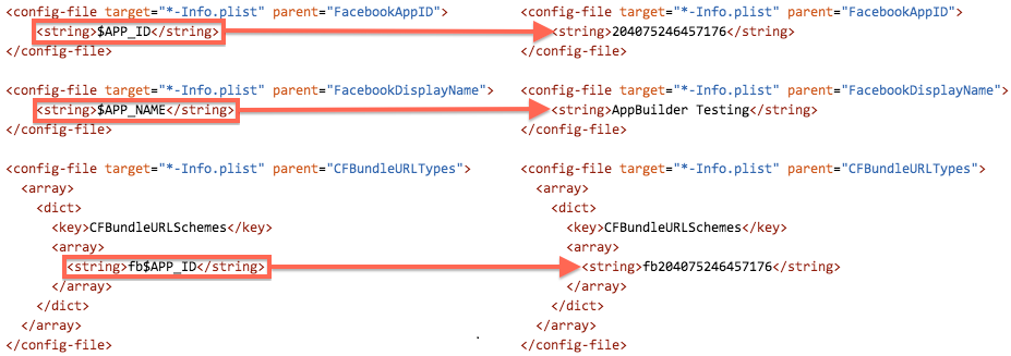 Connecting AppBuilder Projects to Facebook
