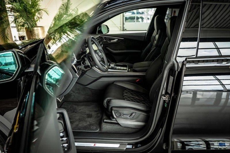 Audi SQ8 4.0 TFSI quattro | Bang & Olufsen | HUD | Leder valcona met ruit | Stoel massage | Alcantara | Nachtzicht | PANO | afbeelding 13