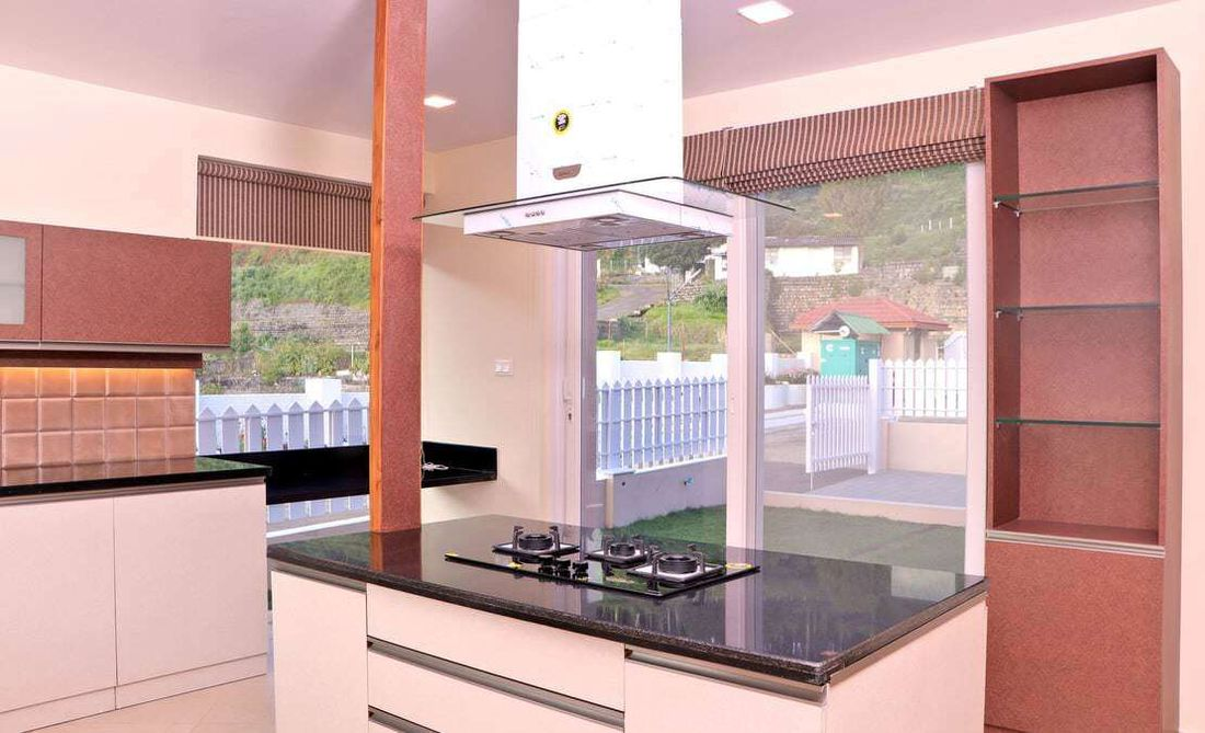 Kitchen at English Daisy, Streamside