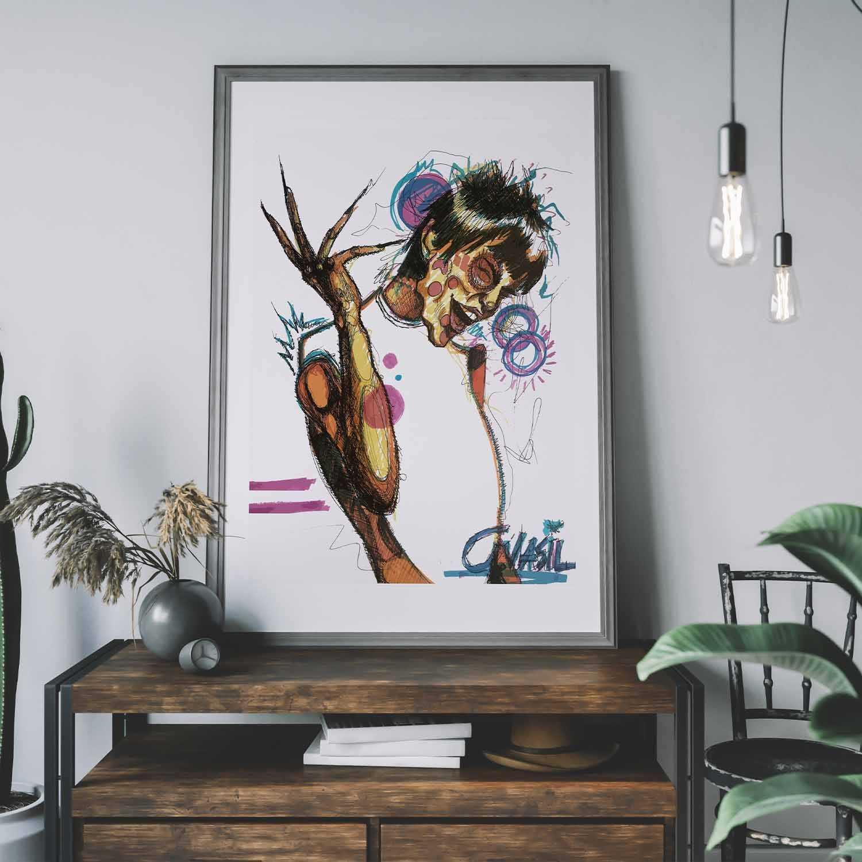'That's Funny' Giclée Art Print
