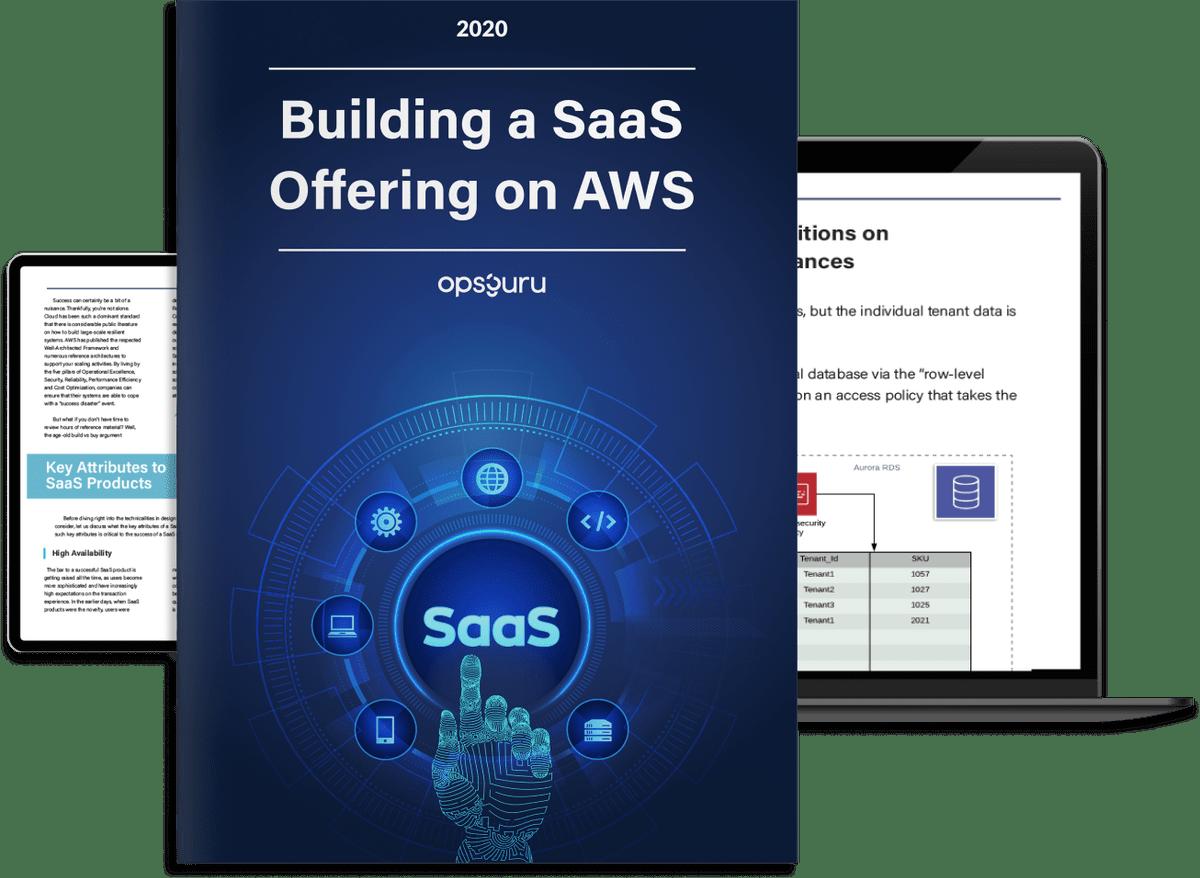 "OpsGuru's ""Building a SaaS Offering on AWS"" has been Released!"