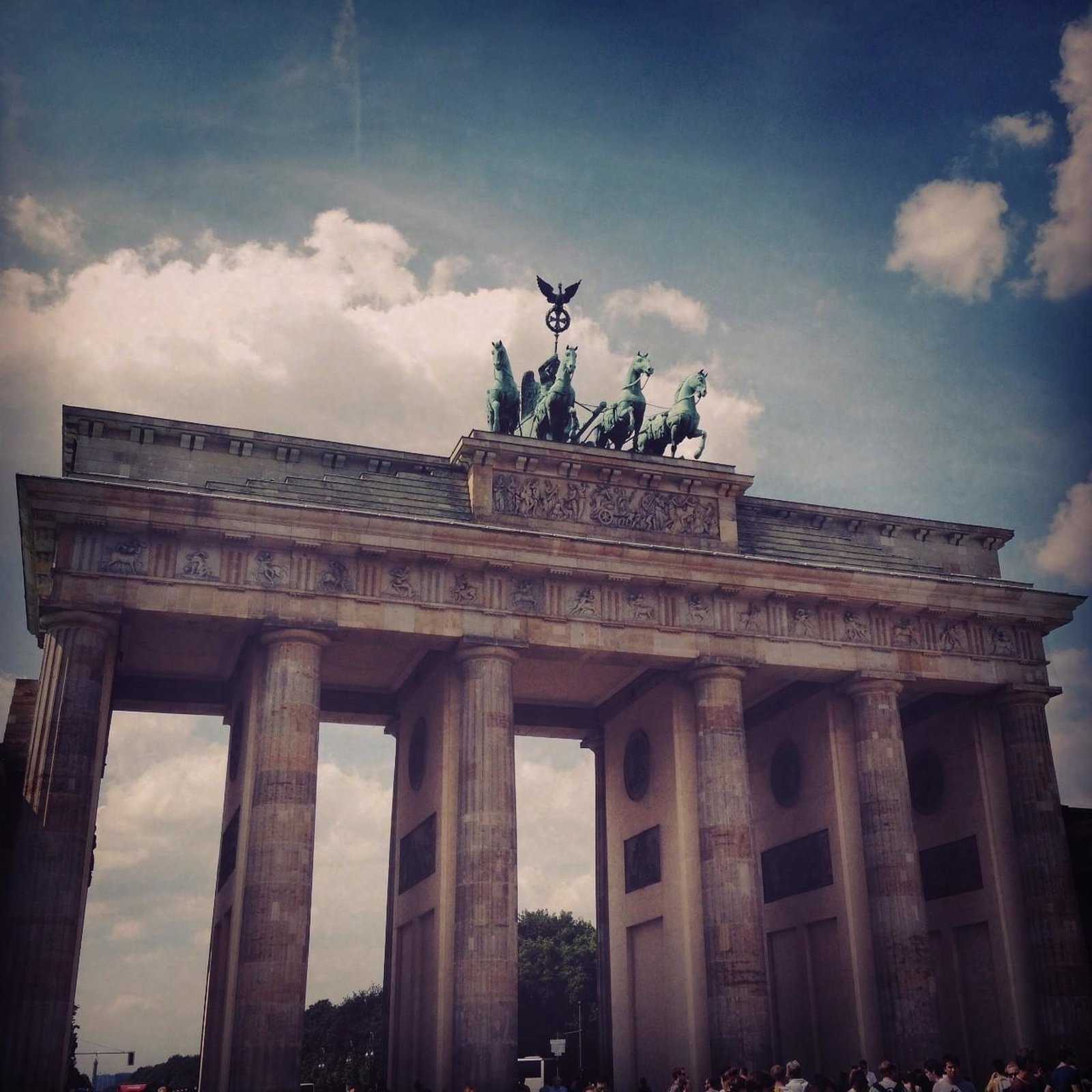 A picture of the Brandenburg Gate