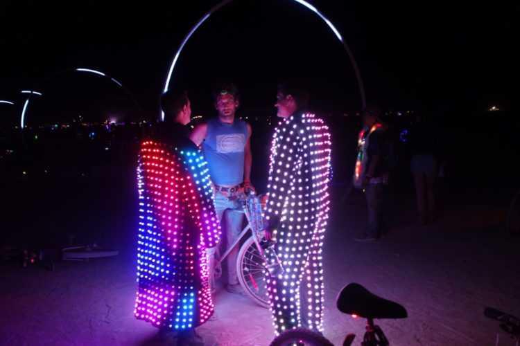 Burning Man Light up Coats