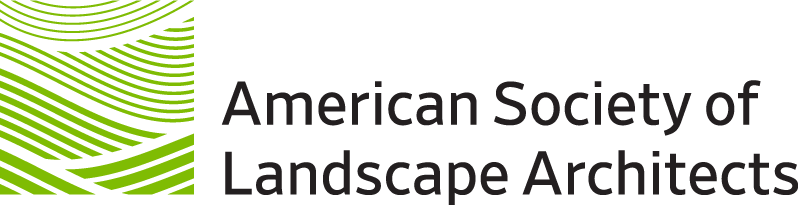 American Society of Landscape Architects Association Badge