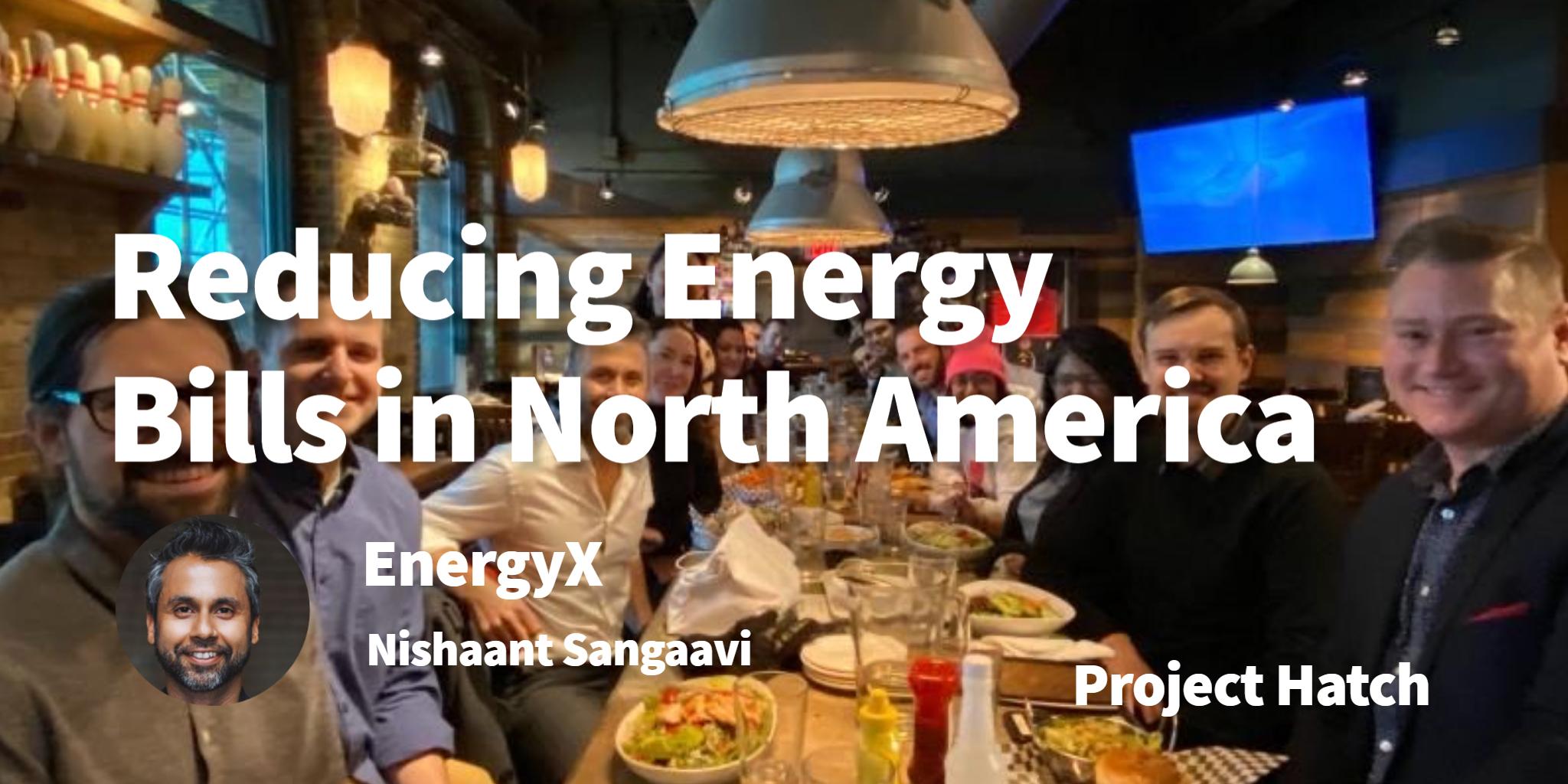 EnergyX Nishaant Sangaav