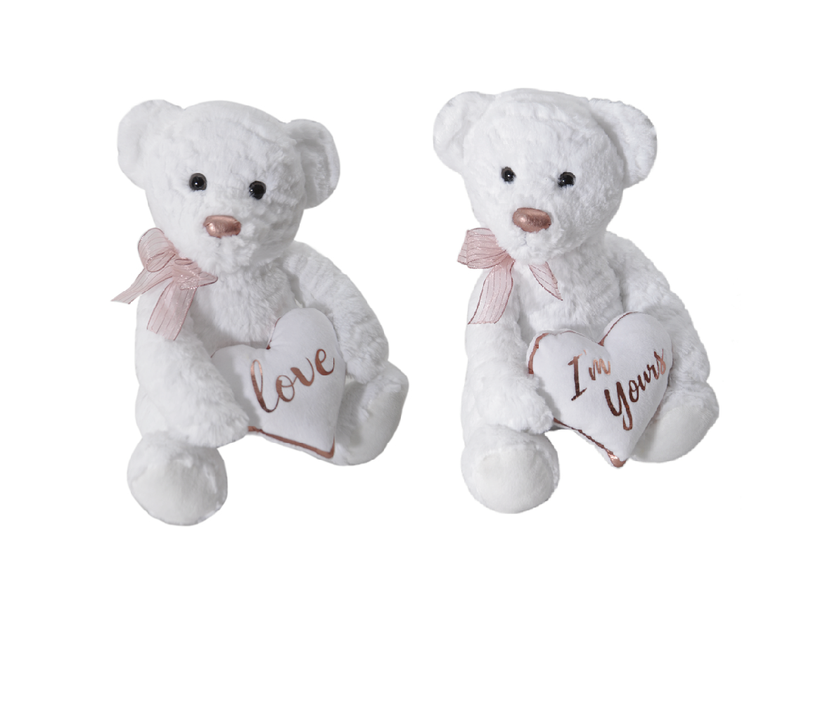 "The Petting Zoo: 10"" Rose Gold Bear Assortment"