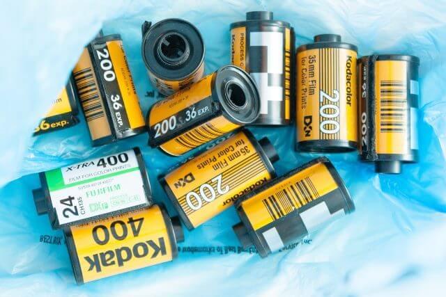 História da fotografia - Filmes Kodak
