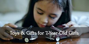 Witness the joy in your seven year old little girl's face when she receives these gifts!