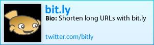 Bit.ly on Twitter
