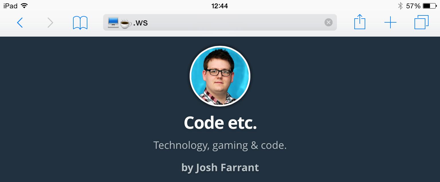 My Code & Coffee Emoji Domain