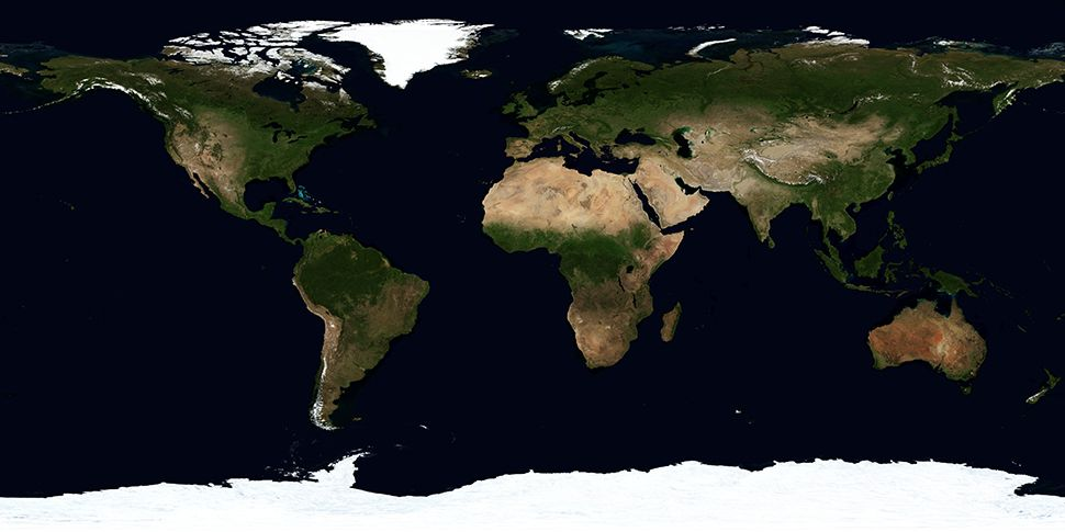 Image of the 7 continents