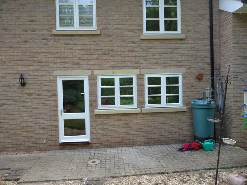 uPVC window installed and matched with existing property features