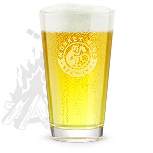 Rendering of Monkey 9 Beachfire Blonde Beer