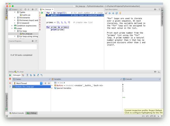 Python IDE | Python Tutorial