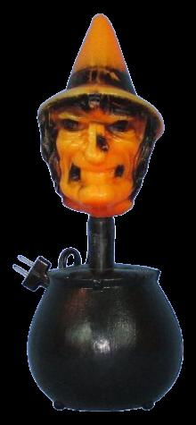 Witch Cauldron Lamp photo