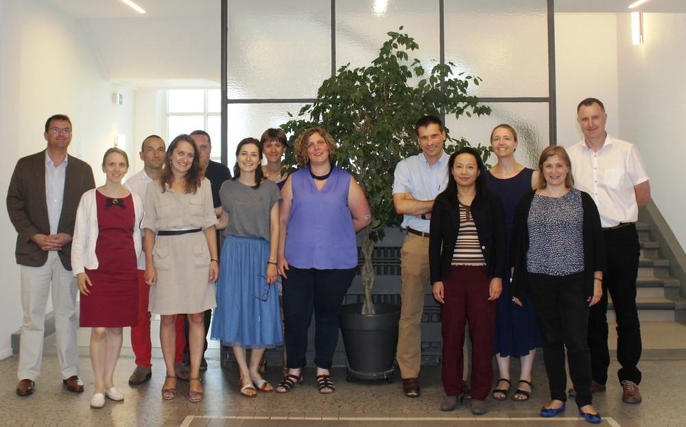 Photo de classe des mentors EIG2