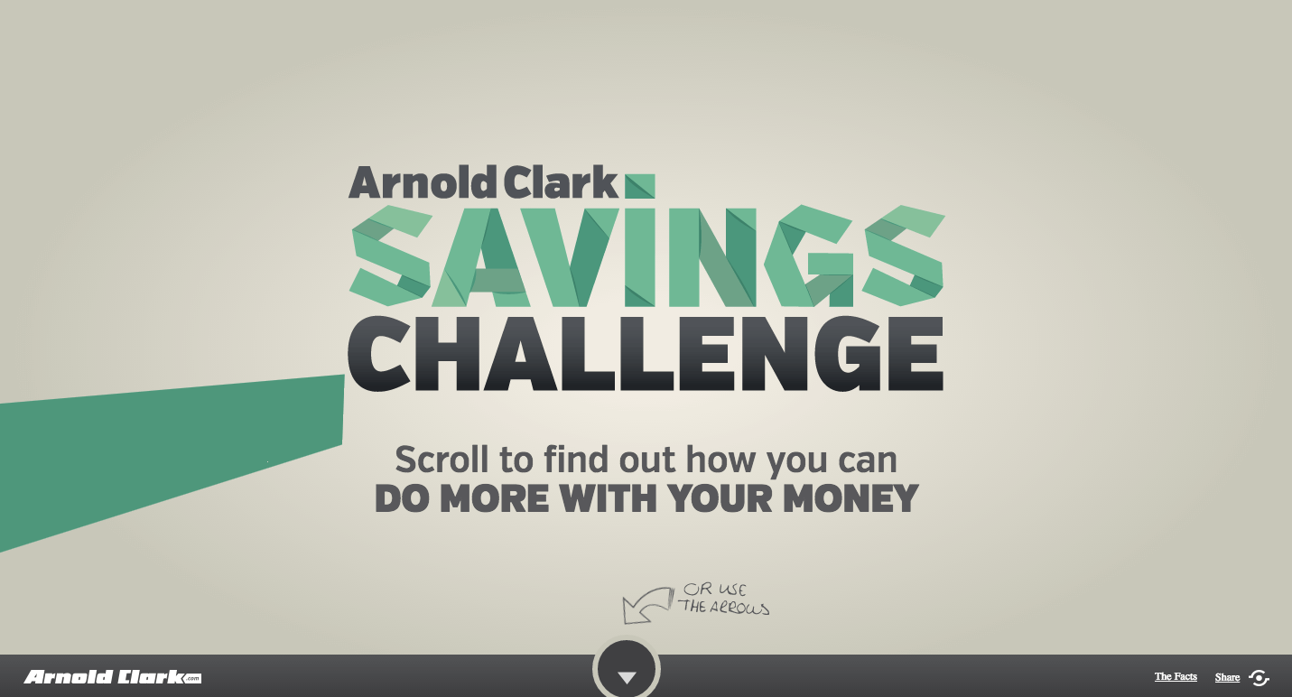 The Arnold Clark Savings Challenge