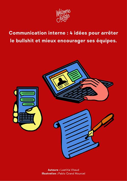 Communication interne : 4 idées pour mieux encourager ses équipes
