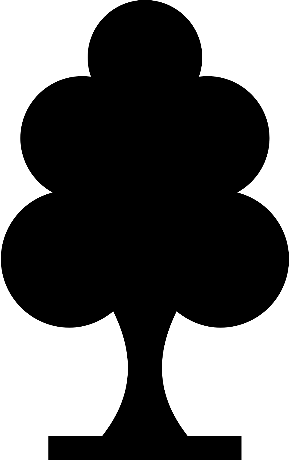 Pictogram of a tree