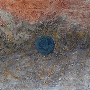 """Andrus Raag, Estonia. """"Cosmos"""" 2011. Canvas, acrylic, 60x80cm"""