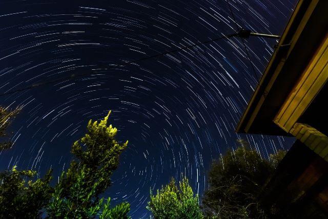 Fotografias star trails
