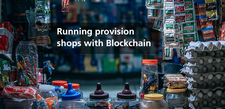 running provision shops blockchain