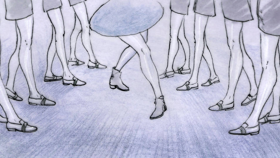 Dancing Feet Story branding pitch storyboard 026