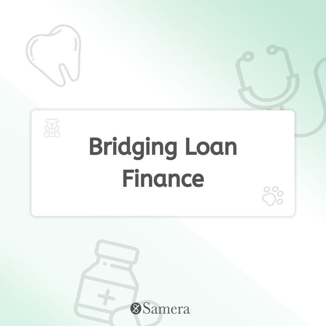 Bridging Loan Finance