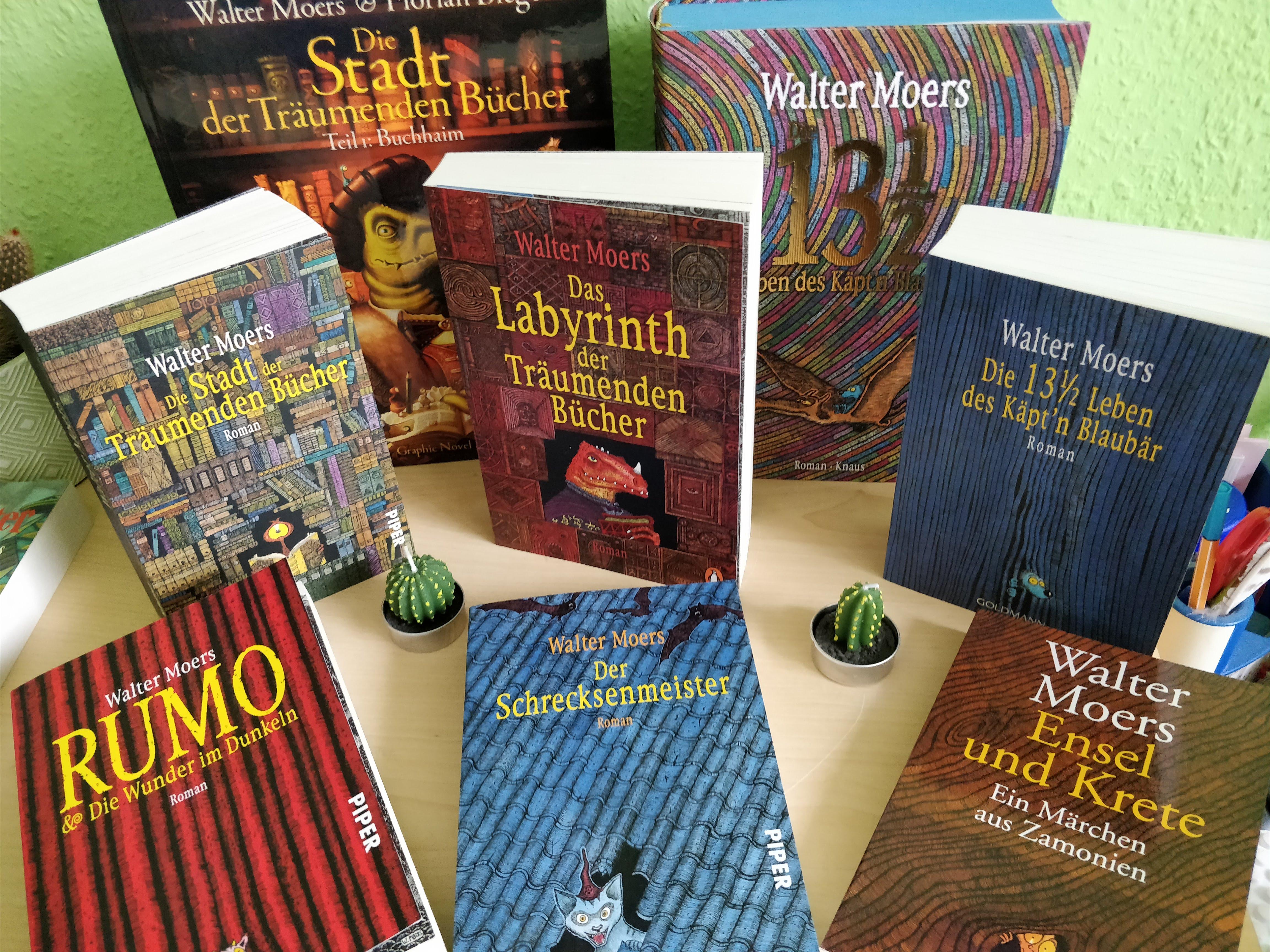 Alle Zamonien-Bücher