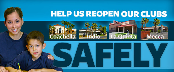 Help Us Reopen Our Clubs Safely