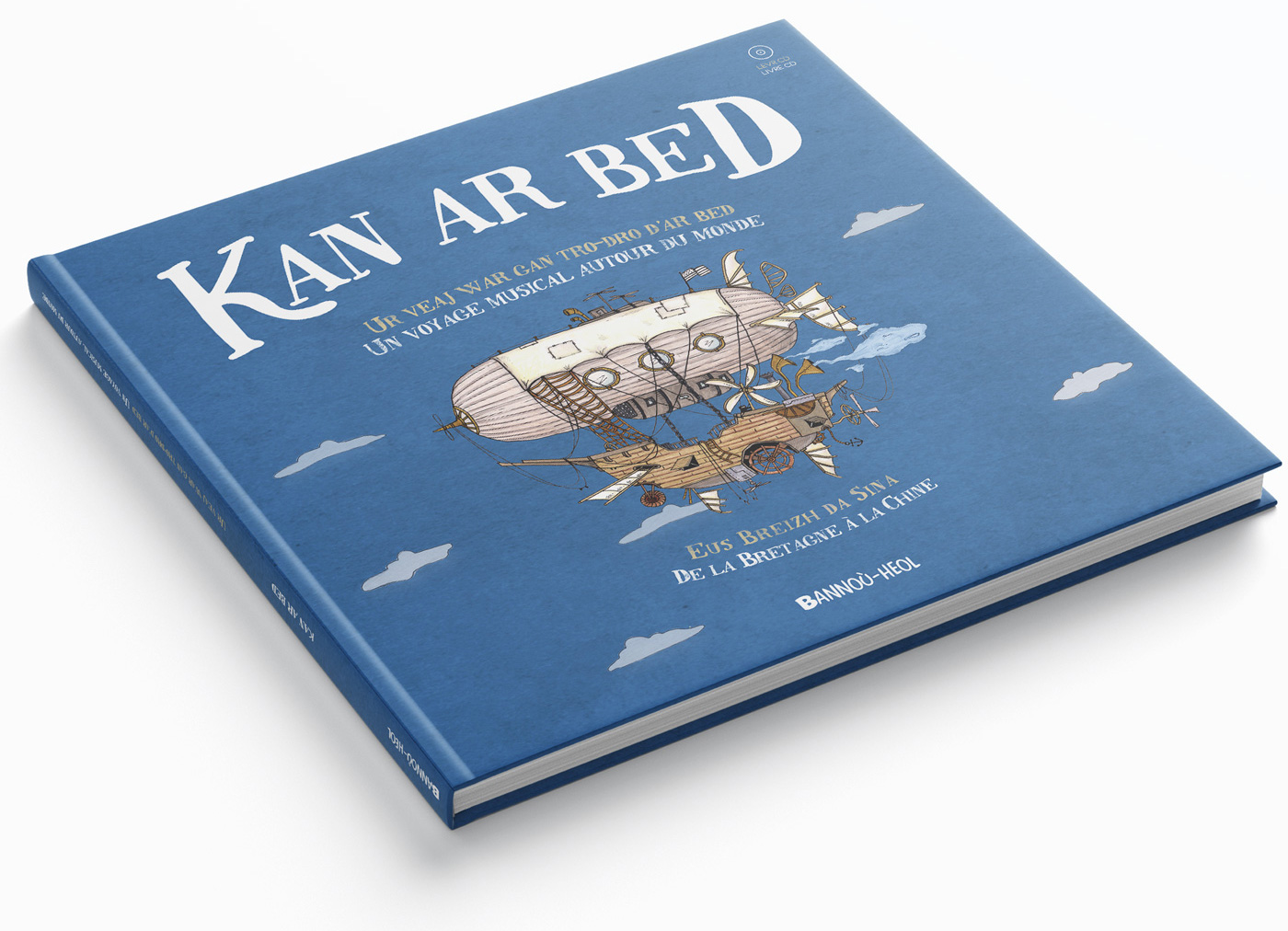 Kan ar Bed - Livre CD