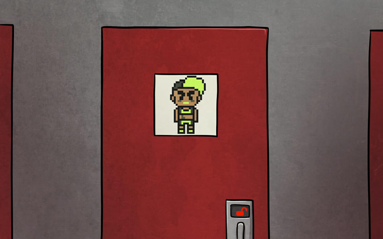 Ishi's door, again.