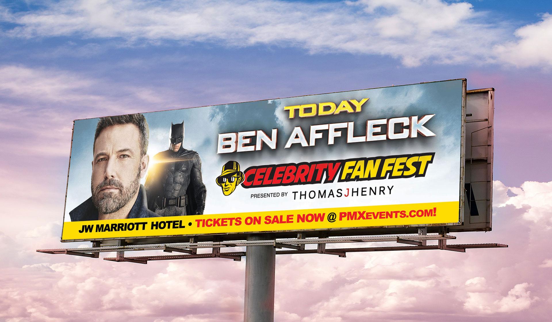 CFF Batman Billboard