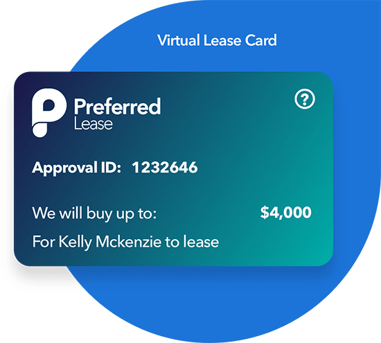Preferred Lease Virtual Lease Card