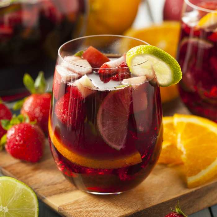 Sweet Sangria Cocktail