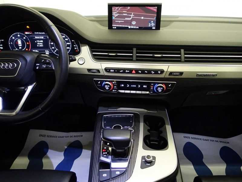 Audi Q7 3.0 TDI e-tron 374pk Quattro Sport S-Line Aut- Panodak, Bose, Leer, Camera, Virtual Cockpit afbeelding 6