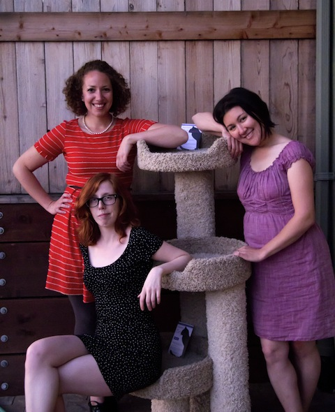 Picture of Chelsey Little, Tracy Potter, and Rachel Bublitz.