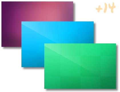 Solid Color theme pack