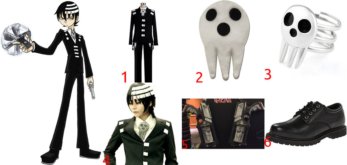 Death The Kid Costume for Cosplay & Halloween