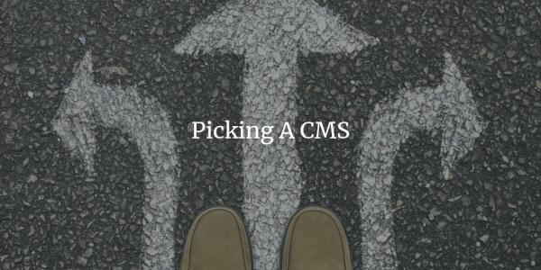 Reader Input: Picking A CMS – Part 4