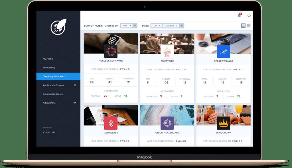 An incubator dashboard incubation management software