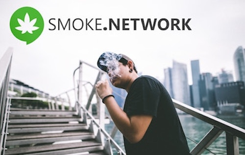Get Paid to Toke with the First Cannabis Social Network on the Blockchain